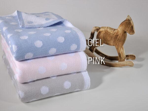 Κουβερτούλα κούνιας σε δυο χρώματα