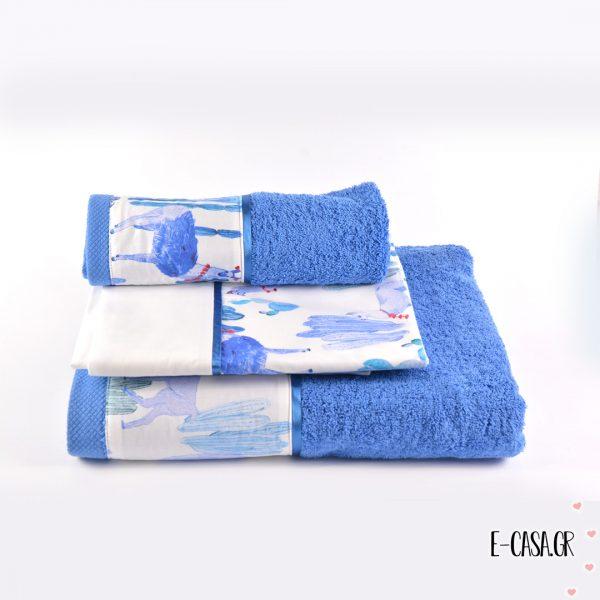 Newborn Δωράκι Lama Blue