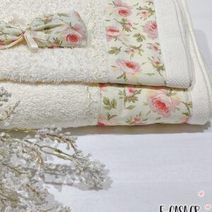 Σετ πετσέτες - ρομαντικό