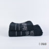 Σετ πετσέτες Dalg Maison Ασπρόμαυρες