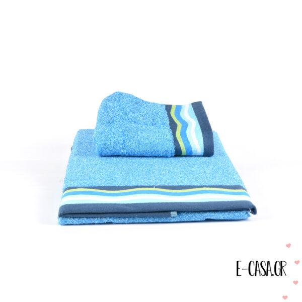 Σετ πετσέτες Bassetti σε δυο χρώματα