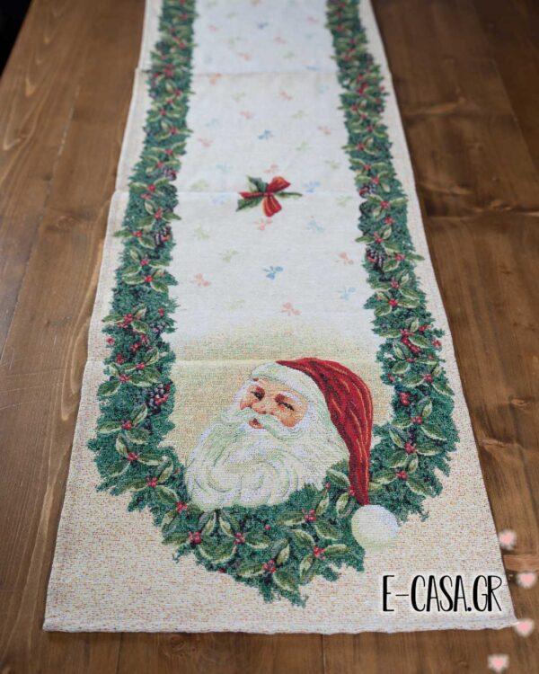Χριστουγεννιάτικη τραβέρσα santa