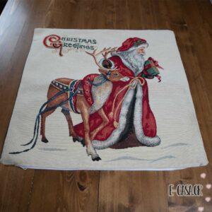Χριστουγεννιάτικη μαξιλαροθήκη άγιος βασίλης