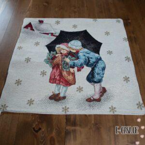 Χριστουγεννιάτικη μαξιλαροθήκη winter