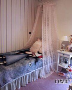 Κουνουπιέρα για μονό κρεβάτι