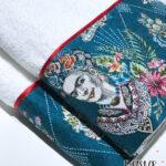 Σετ πετσέτες 2 τεμ. Chic Collection Frida Kahlo