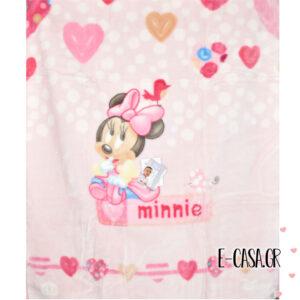 Κουβέρτα Βελουτέ Κούνιας Manterol Baby Disney Minnie