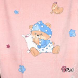 Κουβέρτα Βελουτέ Κούνιας Manterol Baby Vestan Nani