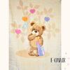 Κουβέρτα Βελουτέ Κούνιας Manterol Baby Vip Teddy