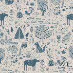 Σειρά Africa - Forest Μπλε