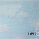 Υφασμα Γάζα συννεφάκια γαλάζιο με λευκό (2-2408)