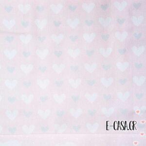 Σειρά Carousel - Καρδούλες Ροζ