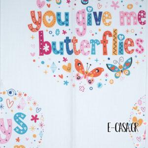 'Υφασμα Butterflies