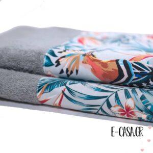Σετ πετσέτες 2 τεμ. Chic Collection Tropical