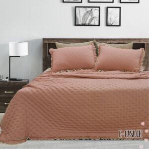 Κουβερλί υπέρδιπλο Solide 4 χρώματα