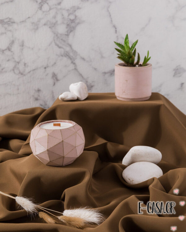 Αρωματικά κεριά σόγιας - Berlin pink