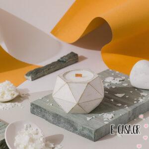 Αρωματικά κεριά σόγιας - Paris  White