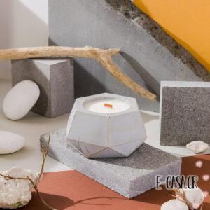 Αρωματικά κεριά σόγιας - Porto light grey