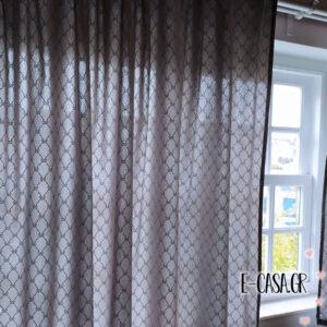 Κουρτινάκια για παράθυρο με φιογκάκια