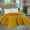 Κουβέρτα πικέ pom pom honey