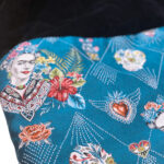 Μοναδική πετσέτα θαλάσσης Frida Kahlo Azul