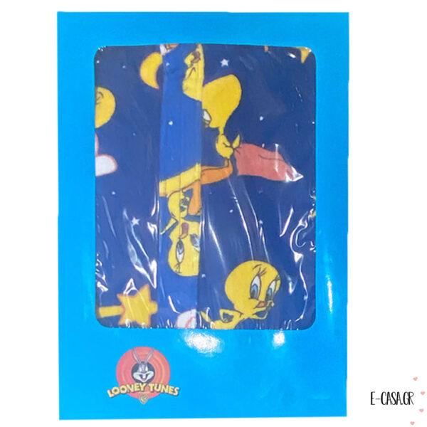 Μπουρνούζι παιδικό Tweety Blue StΜπουρνούζι παιδικό Tweety Blue Starsars