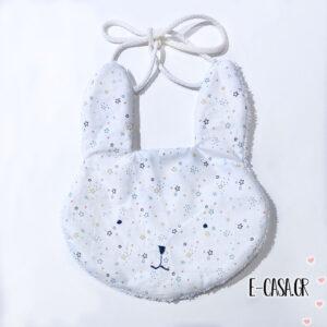 Rabbit Σαλιάρα white stars