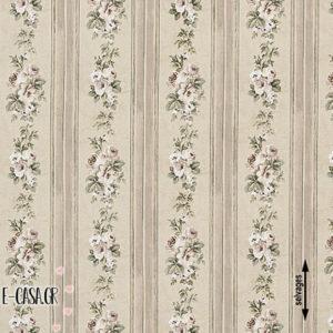 Σειρά Country Striped Floral - beige